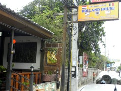 Uithangbord Holland House in Jomtien