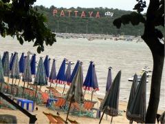 Het strand van Pattaya