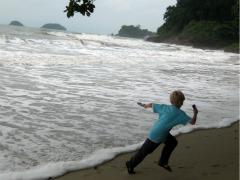 Rennen voor de zee