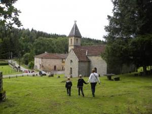 Overnachten in een klooster in de Vogezen