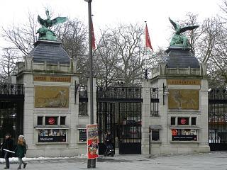 Ingang Dierentuin Antwerpen