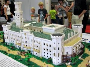 Het prachtige Hluboka kasteel in Lego