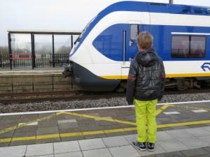 Trein naar Amsterdam