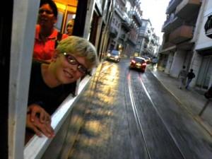 Met de tram door Lissabon