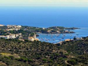 Uitzicht op Cadaqués