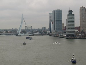 Vertrek uit Rotterdam
