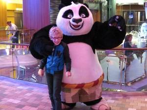 Op de foto met Kung Fu Panda