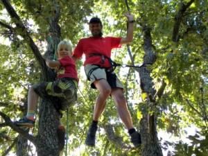 Lekker in touw: de klim-workshop tijdens het Angel Art festival