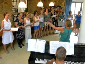 Opera workshop van Evalyne Overtoom