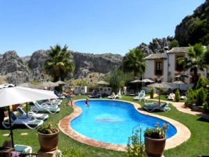 Zwembad bij Casas de Montejaque