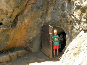 Tycho komt uit de Cueva de la Pileta