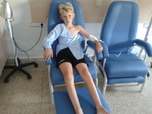 Wachten op de operatie