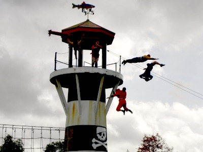 Piratenshow bij Legoland Windsor