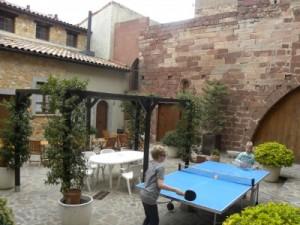 binnenplaats Can Llorenc in Prades