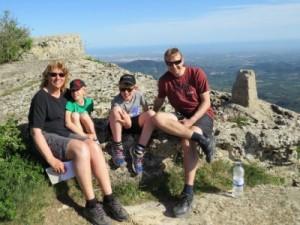Poseren in de bergen van Prades