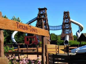 De Texas Town speeltuin