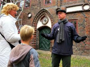 Onze gids in Lüneburg