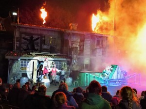 Spectaculaire piratenshow in Heide Park