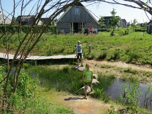 Het natuurpad in vakantiepark Landal Orvelrtermarke