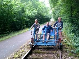 Rail Bike Molignee Onhaye