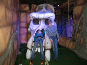 Fun bij Adventure Golf Taurus