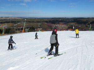 Skien in het groene Nesselwang