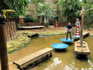 Kids-jungle in Berkenhof Tropical Zoo