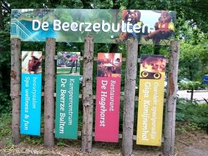 Het bord bij Beerze Bulten