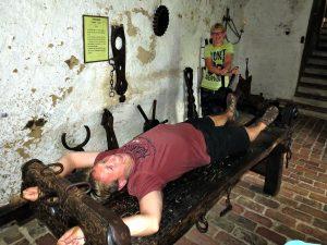 Martelkamer in burg Ronneburg