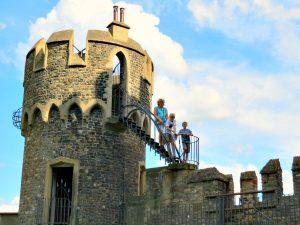 De Rijntoren van Burg Rheinstein