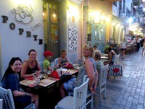 Restaurantje in Nafplio