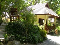 Huisje in het Oriental Kwai Resort
