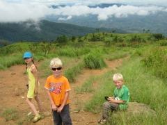 Op weg naar de top van Phu si fa