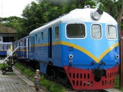 Een trein in Chiang Rai?