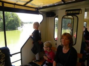 Safari vanuit de boot