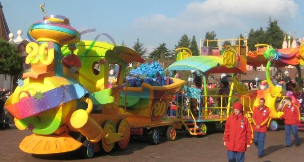 Magische trein 20 jaar Disneyland