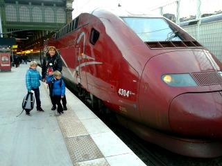 Bij de Thalys