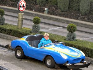 Autopia in Disneyland Parijs