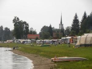 Camping Frymburk aan het Lipno-meer
