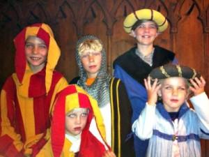Verkleden in de stijl van de middeleeuwen