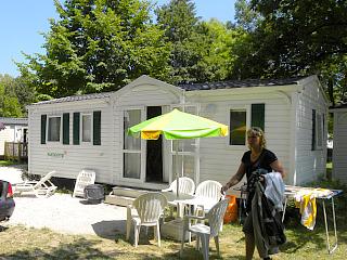 Standaard caravan van Eurocamp