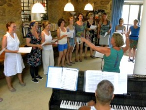 Opera workshop van Evalyne Overtoom