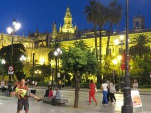 Sevilla met de kinderen
