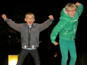 Zeb en Tycho super enthousiast over Hof van Saksen