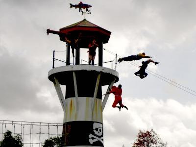 Piratenshow bij Legoland Windsor