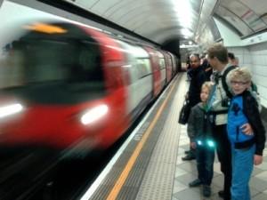 Met de metro in Londen