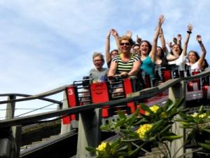 De Stampida achtbaan in Port Aventura