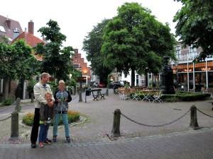 In het centrum van Wassenaar