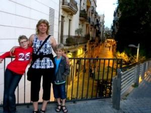 leuk straatje bij Barcelona Sants