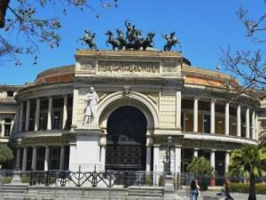 Theatro Potiteama Garibaldi in Palermo